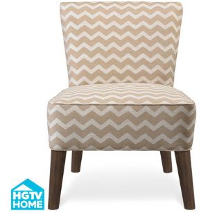 Lucy Armless Accent Chair HGTV HOME