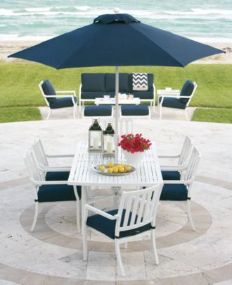 Oceanside Outdoor Patio Furniture Collection Sets Pieces