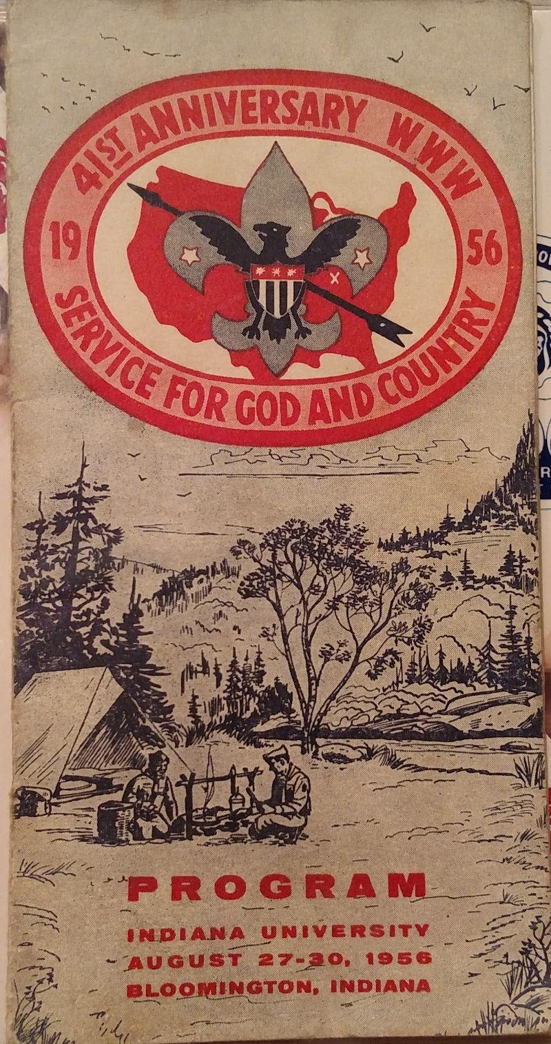 Scouter_Jeff 1956 NOAC Program Order of the arrow