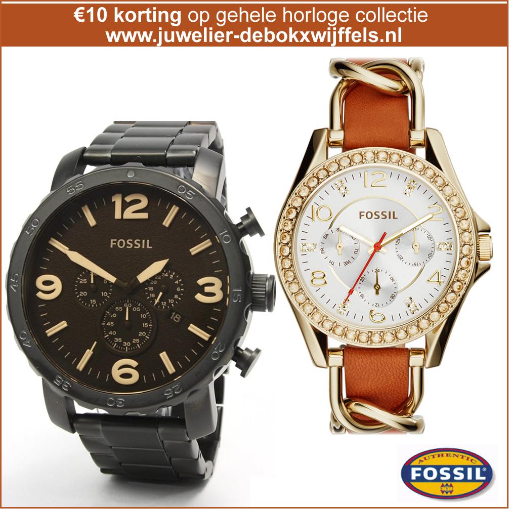 48fed38bab9 Fossil Horloges €10 korting op de gehele collectie! #Vaderdag #fossil #watch  #horloge