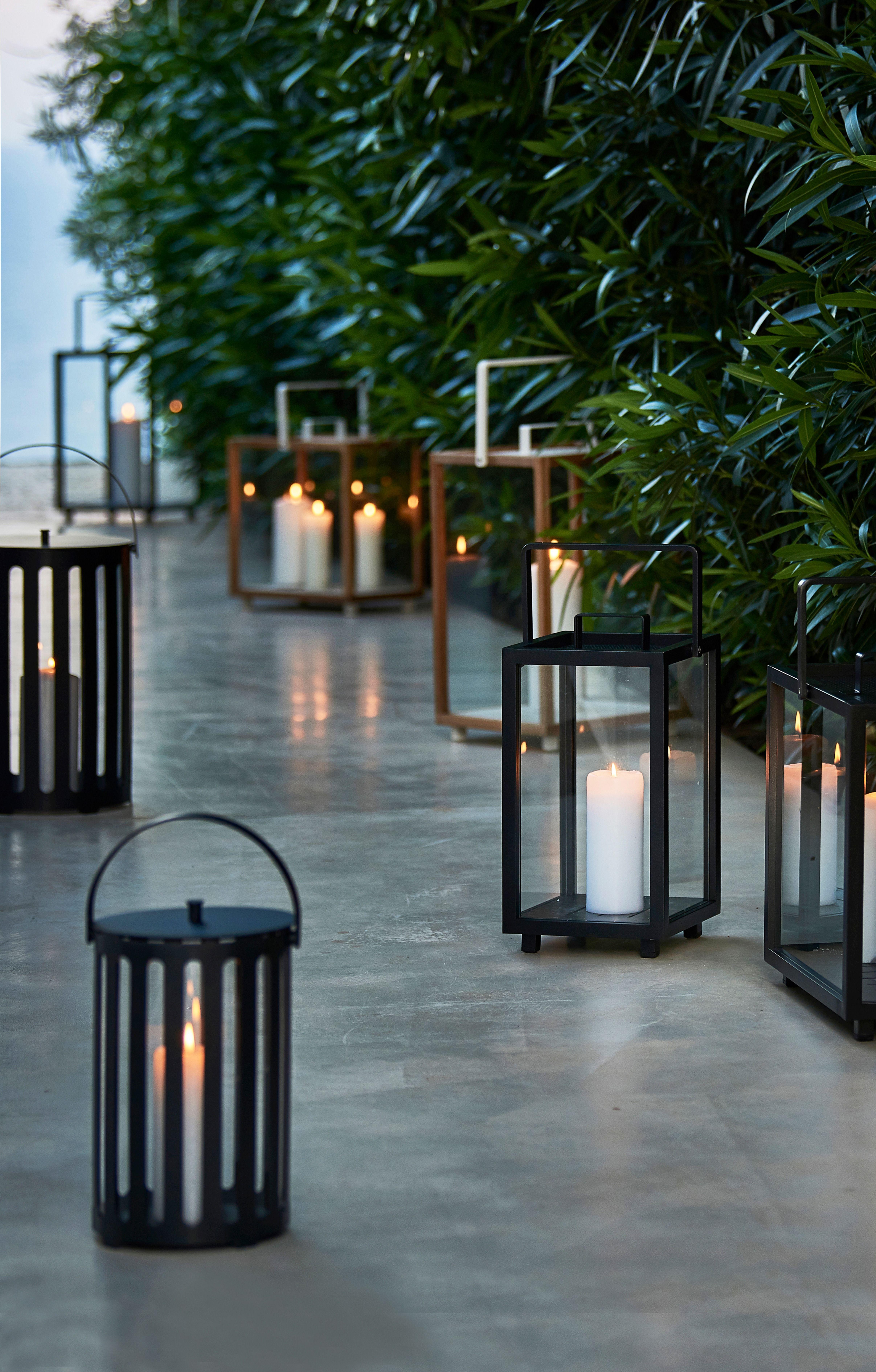 Windlichter Garten Windlichter Garten Geschlossener Innenhof Laterne Garten