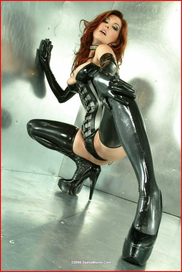 Not simple, sexy latex fetish girls commit error