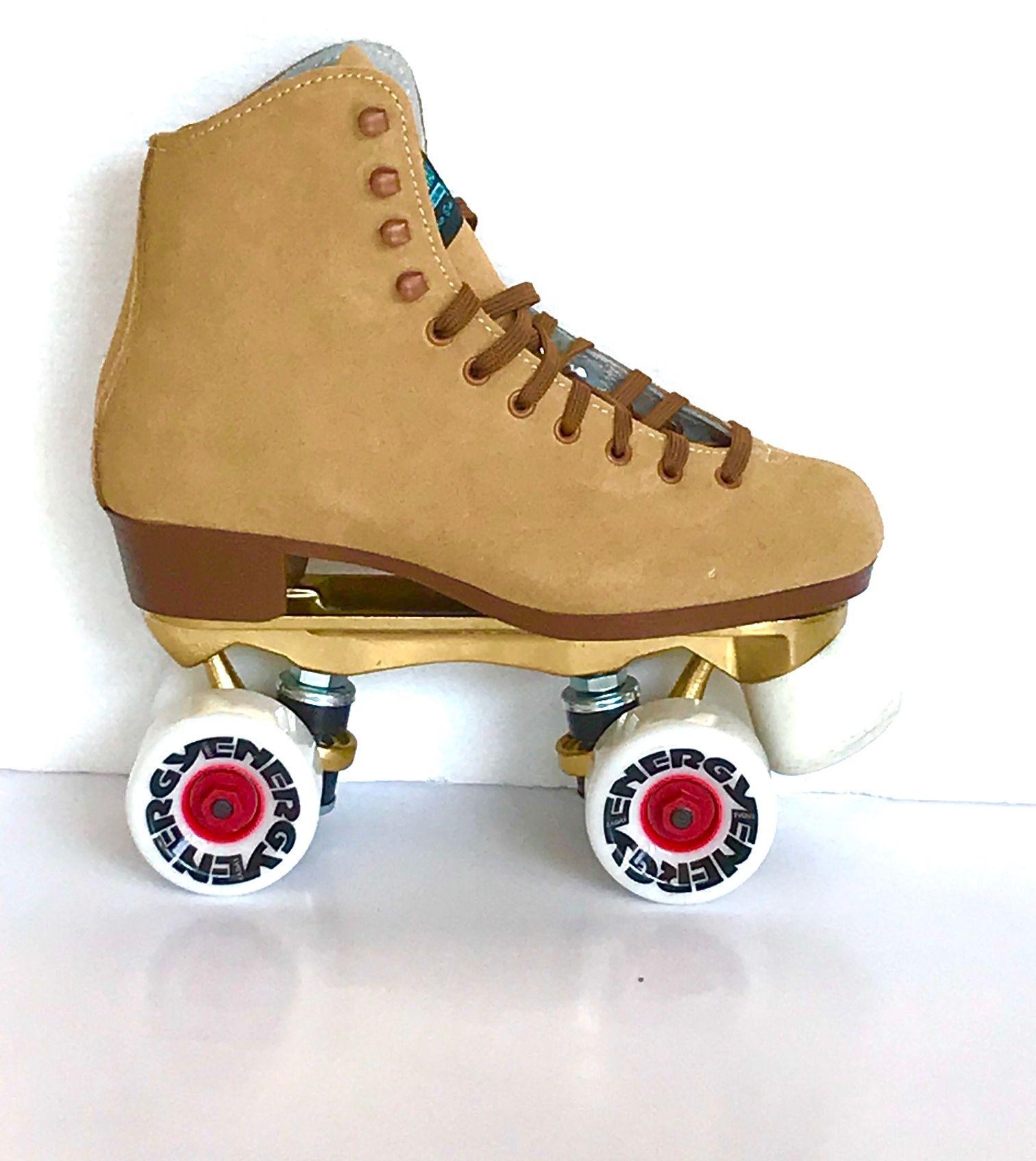 Burgundy Rookie Rollerskate Classic Suede