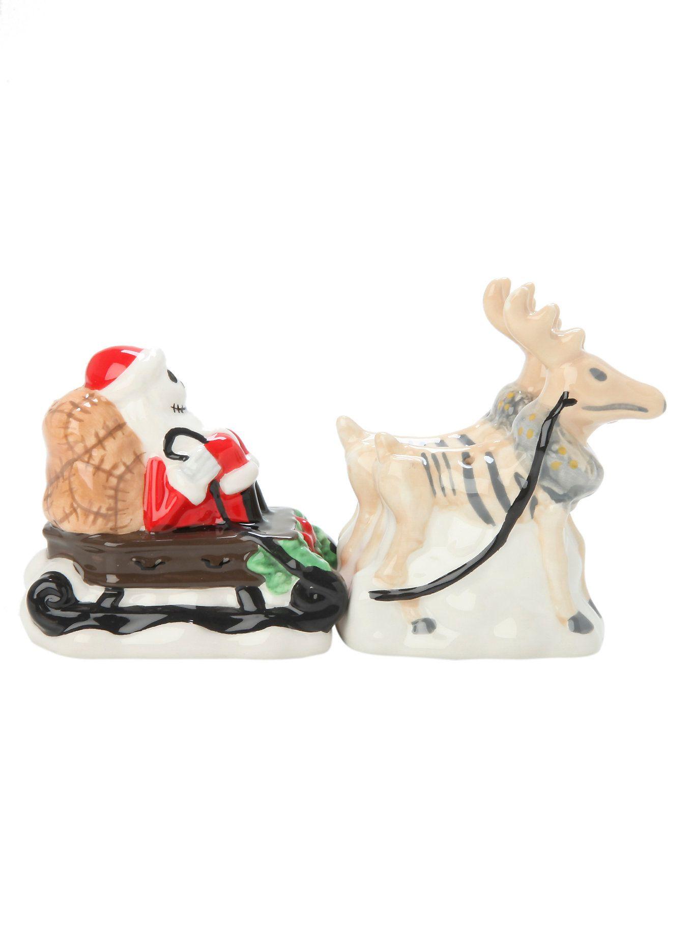 The Nightmare Before Christmas Jack Skellington and Reindeer Salt ...
