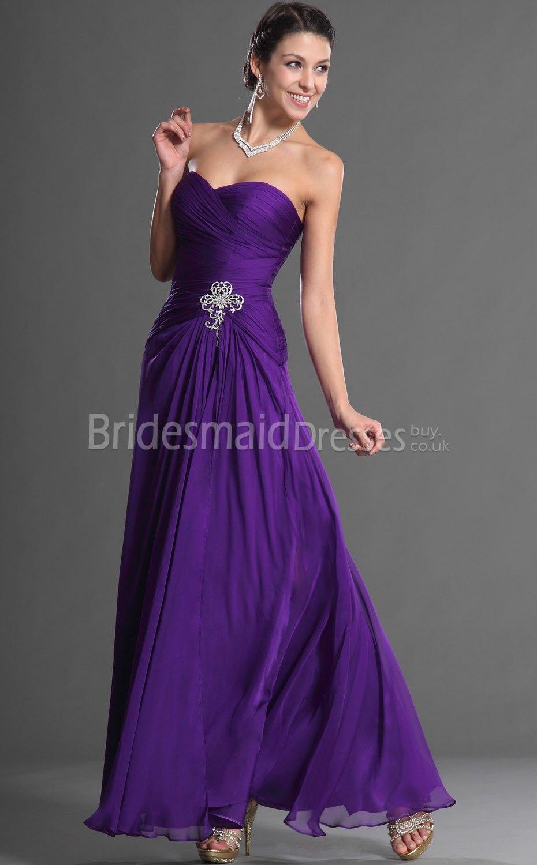 purple bridesmaid dresses | WEDDING | Pinterest | Vestidos fiestas ...
