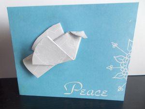 Origami Dove - © Dana Hinders