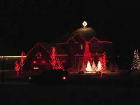 Jingle Bells Techno Holdman Christmas Display Christmas Light Show Christmas Display Christmas Gif