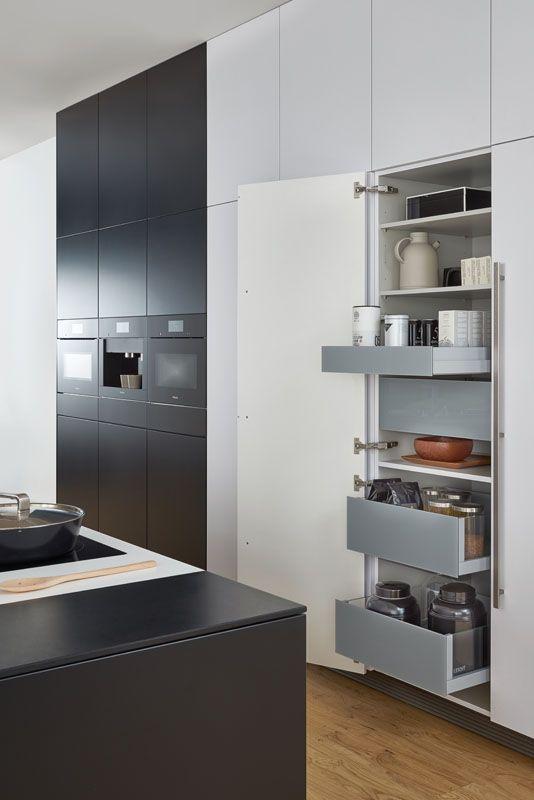 Wildhagen  Design Keuken Van Leicht Met Handige Kastinrichting Glamorous Kitchen Unit Designs 2018