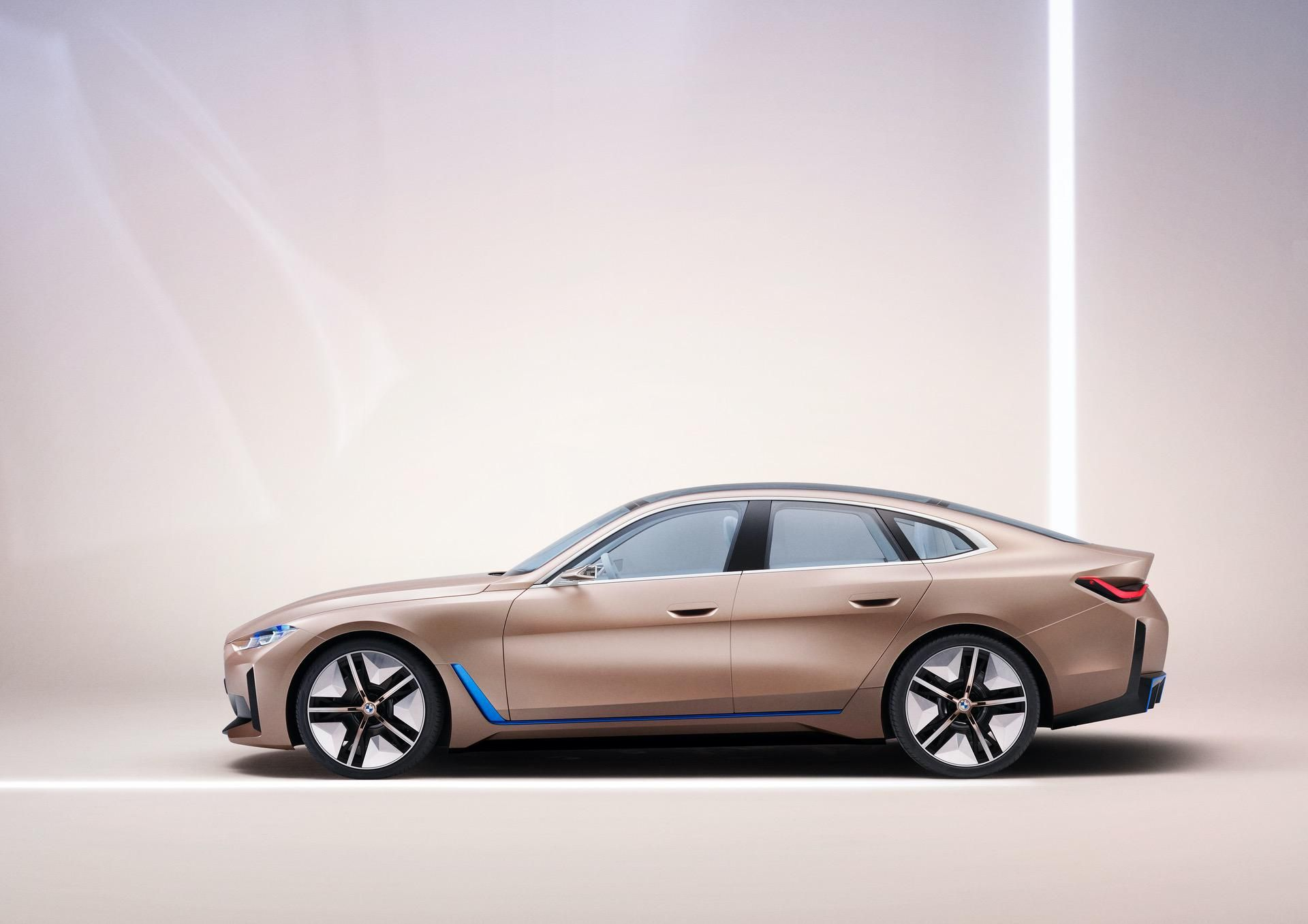 Bmw I4 Likely To Have Two Powertrains Rwd And Awd Bmw Concept