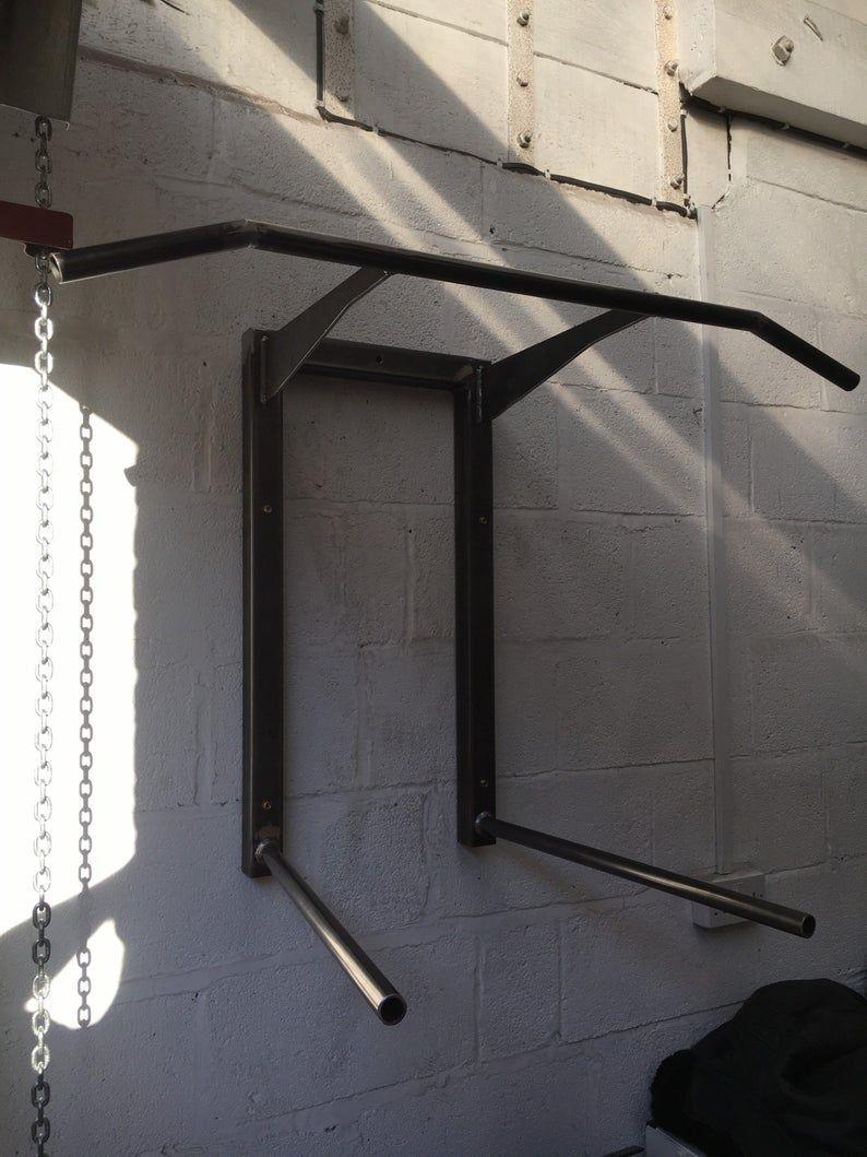 Pull Up Bar Home Gym Chin Up Bar Wall Mounted Fitness Etsy Pull Up Bar Diy Home Gym Diy Pull Up Bar
