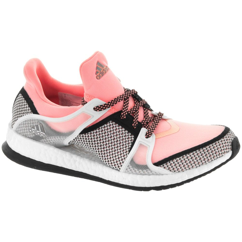 adidas Pure Boost X TR Women's Black/Sun Glow/White