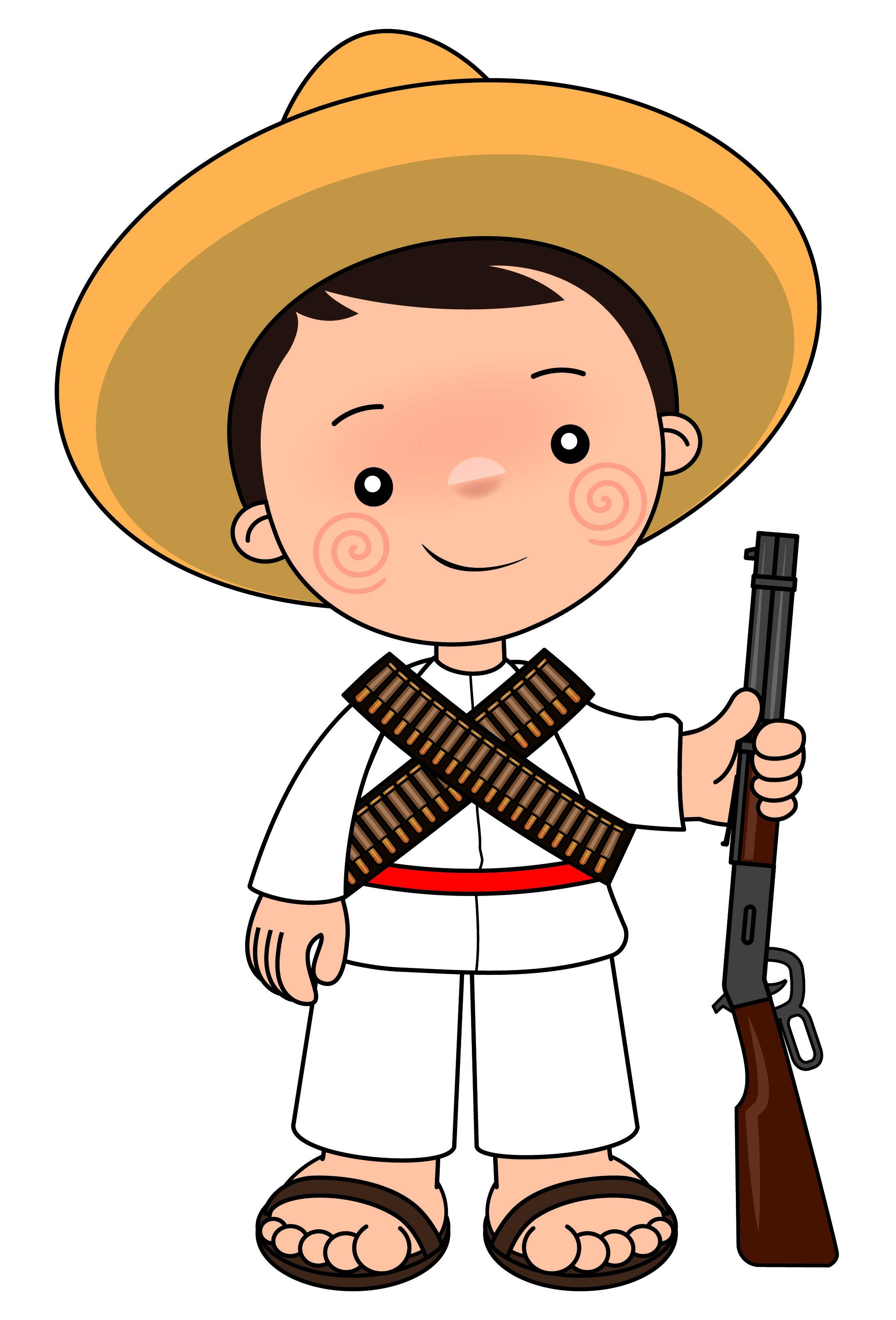 5 De Mayo Colorear 5 De Mayo Batalla De Puebla Dibujo Para ...