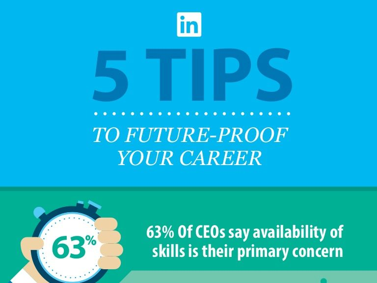 5 Tips to Future-Proof Your Career Best Infographics Pinterest - proof of employment