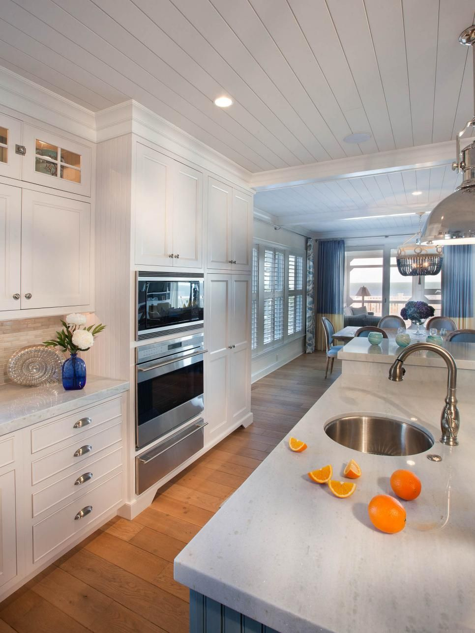White coastal kitchen pictures by the serene seaside pinterest