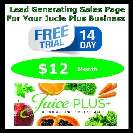 Juice Plus 14 Day Trial Sales Page Juice Plus Juice Day