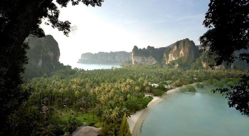 "Luxury Hotel ""Rayavadee"" Railay Beach, Thailand"