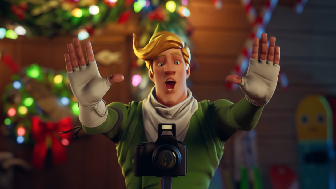 Fortnite Winterfest Is Here With New Challenges Presents And A Millennium Falcon Glider Fortnite Winter Festival Winterfest