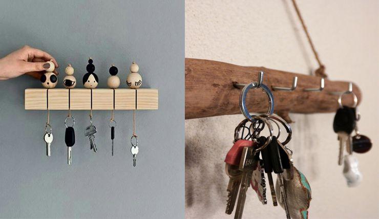 Een diy sleutelrekje: hoe leuk is dat huisaccessoires pinterest