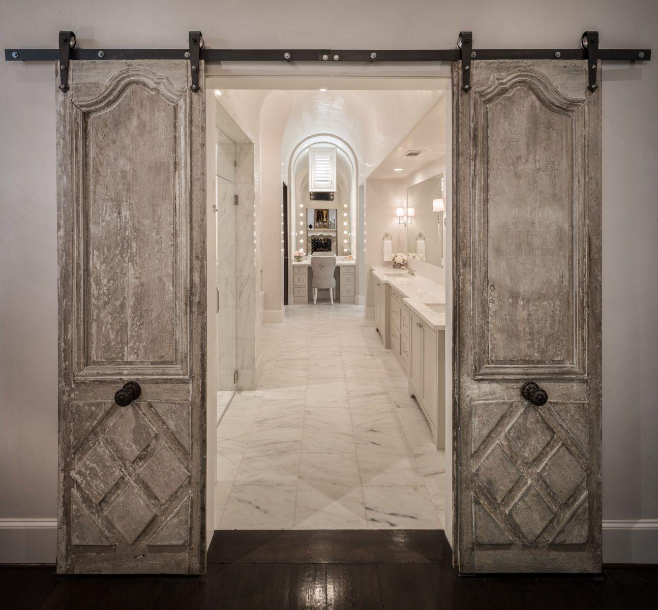Amazing Elegant Farmhouse Bathroom-Thompson Custom Homes