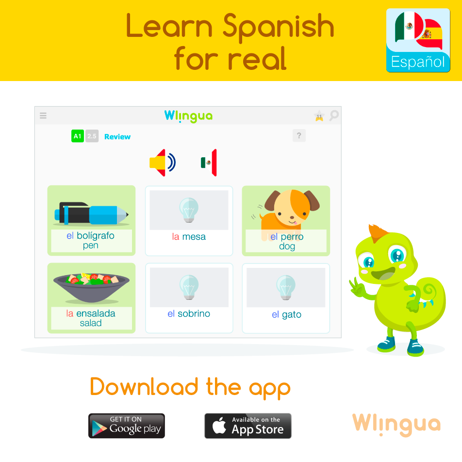 Learn Spanish with Wlingua An Easy to Use Free App on Any