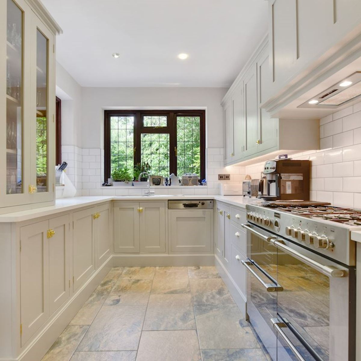 The entire downstairs of this 5-bedroom house was flooded in June 2016 after torrential downpours caused the River Pinn to burst its banks. We were engaged to bring the house back to its former glory and beyond by reinstating and remodelling the affected areas, including building a fully bespoke, handcrafted kitchen. #insurancerepairs #flooddamage #insurance