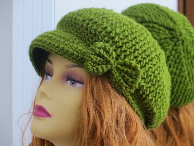 Taylor Newsboy Hat, Crochet Pattern for Him or Her, Sizes Ranging ...
