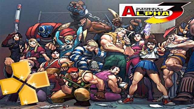 تحميل لعبة Street Fighter Alpha 3 MAX لأجهزة psp ومحاكي
