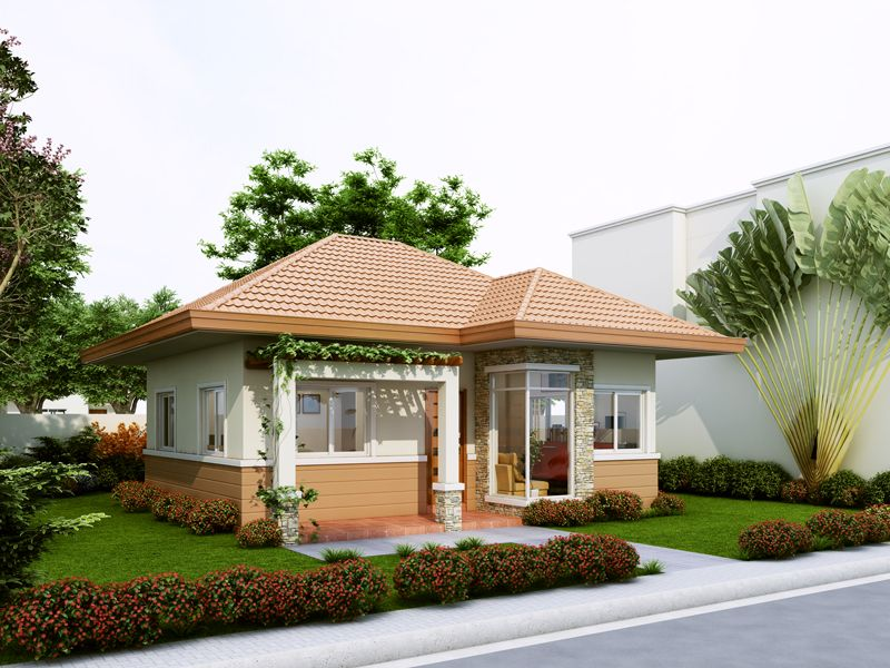 Thoughtskoto 15 beautiful small house designs small for Small house design thailand