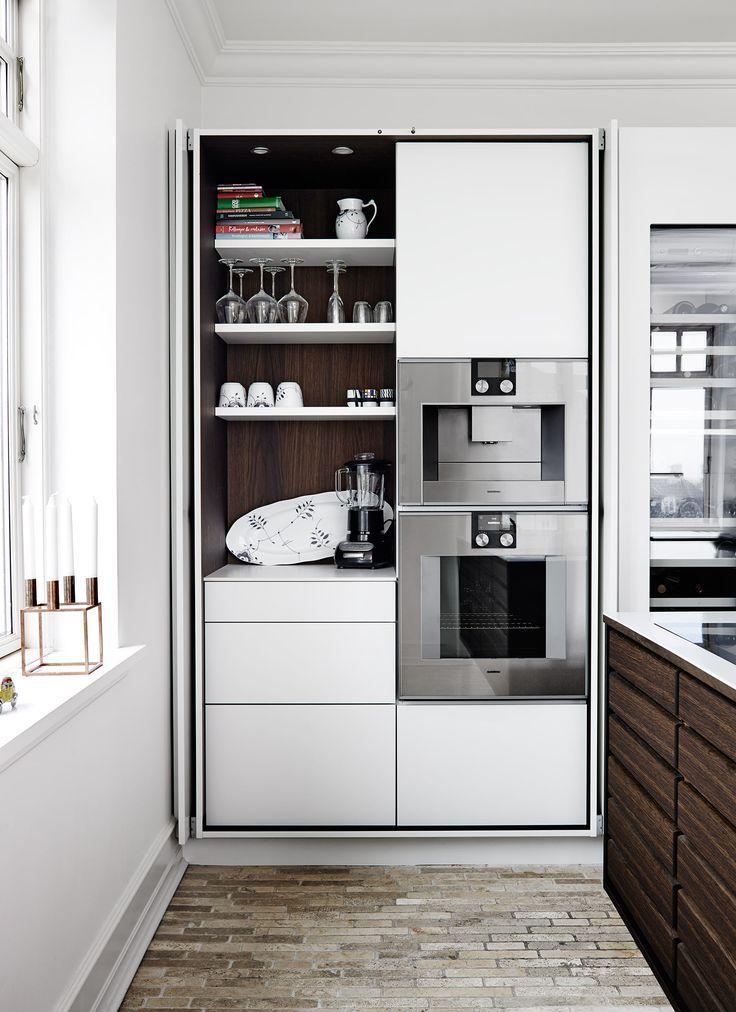 Küchenschrank, Schranksystem, Küche, Hochschrank, weiß, Stauraum - ordnung im küchenschrank