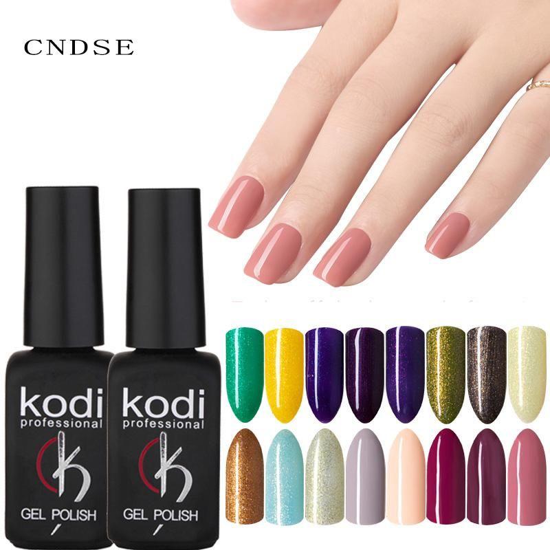 Kodi Gel Nail Polish Gel Uv Paint Gel Semipermanent Paint Healthy And Eco Friendly The Material Professional Nai Professional Nail Art Nail Polish Gel Nail Art