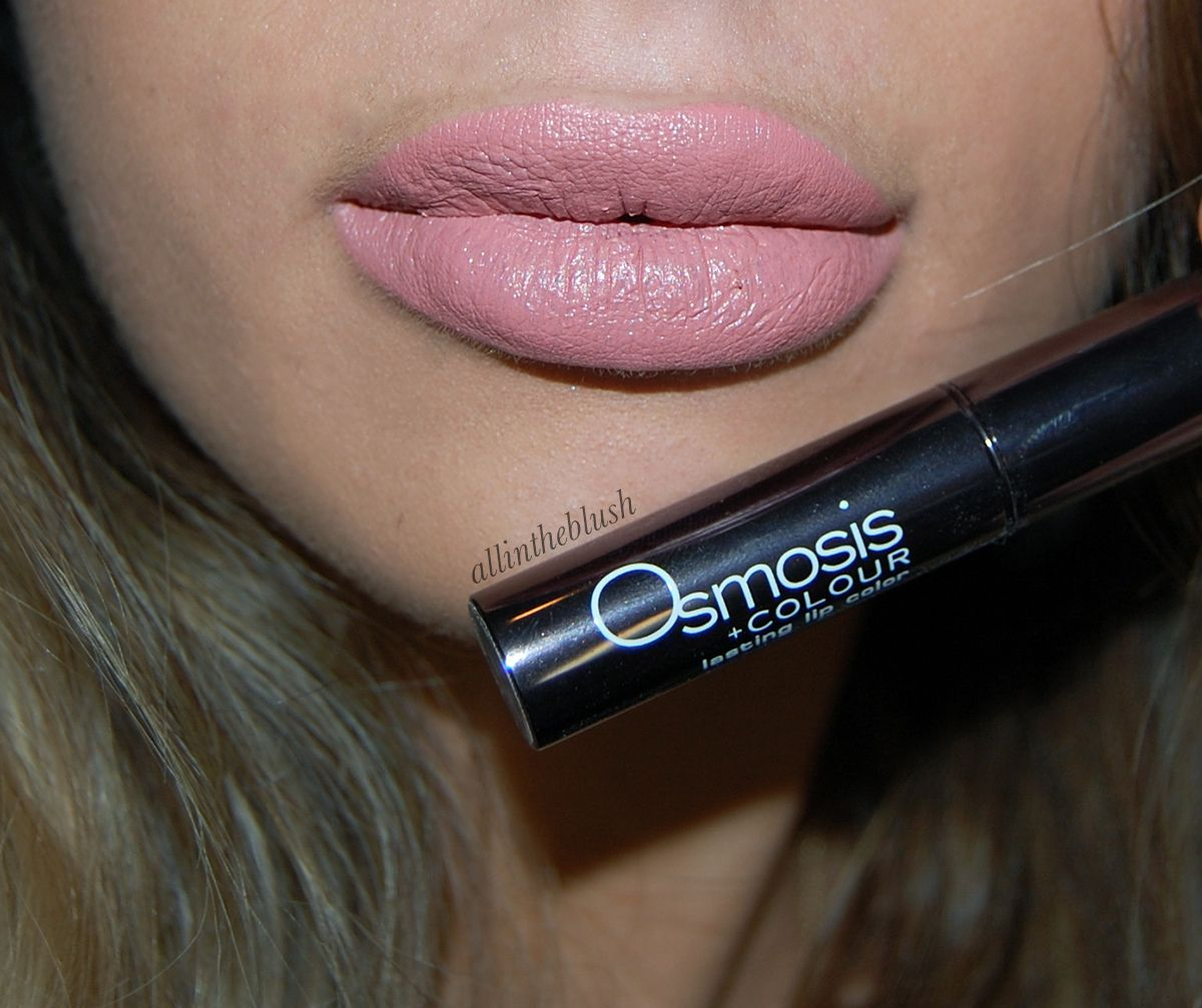 Osmosis Colour Mineral Cosmetics Longwear Lipsticks - Review & Swatches - All In The Blush