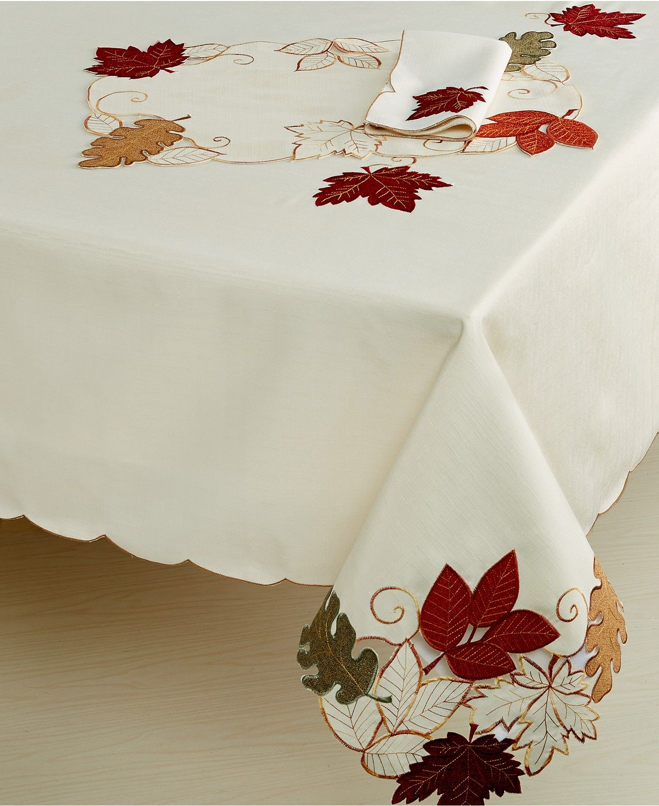 Homewear Harvest Autumn Bliss Collection Table Linens Dining