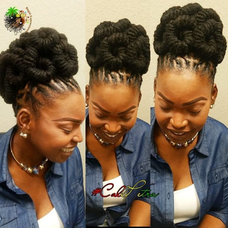 Pin By Adell On Loc Hairstyles Natural Hair Styles Locs Hairstyles Dreadlock Hairstyles Black