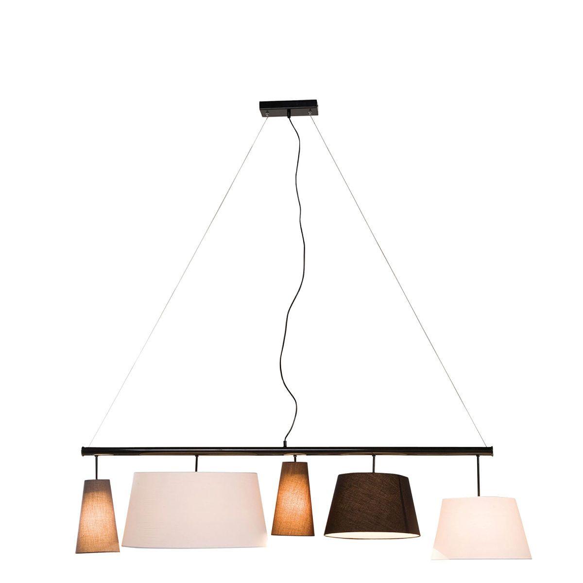 cittadino h ngeleuchte mit 5 verschiedenen schirmen shopping list pinterest esszimmer. Black Bedroom Furniture Sets. Home Design Ideas
