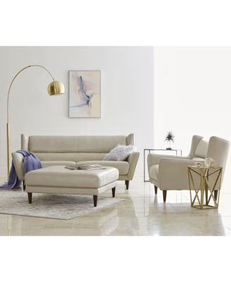 Pleasing Delena Leather Sofa Only At Macys Devan Sofa Furniture Dailytribune Chair Design For Home Dailytribuneorg