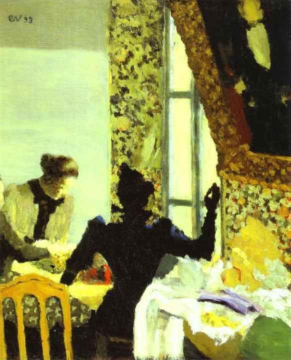 Édouard Vuillard, 1899 Edouard Vuillard Pinterest Fenetre
