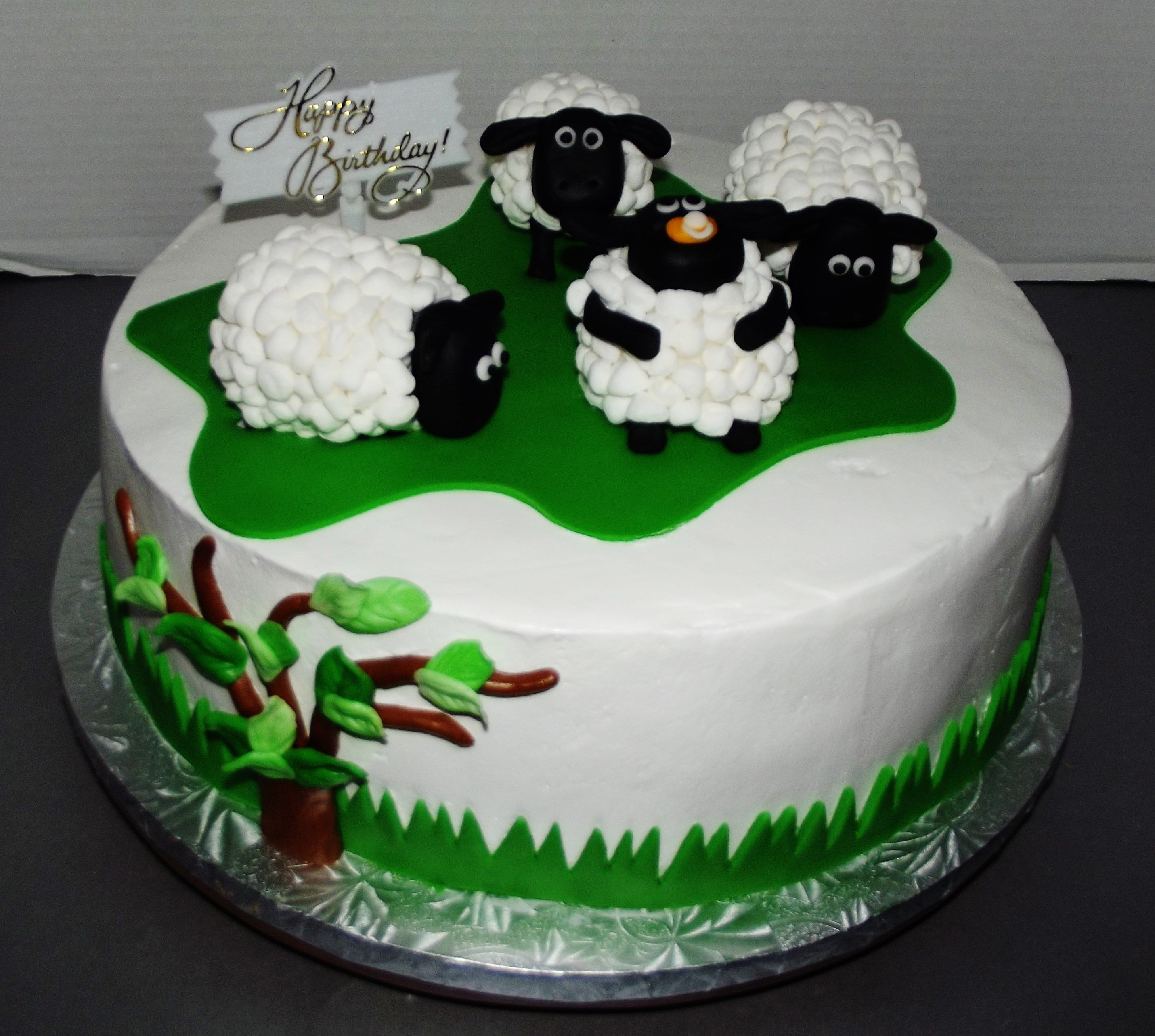 Sheep Cake Sheep Cake Cake Cake Decorating