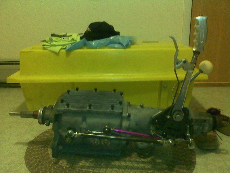 Hurst Ramrod shifter installed in A body  | Chevy Hurst