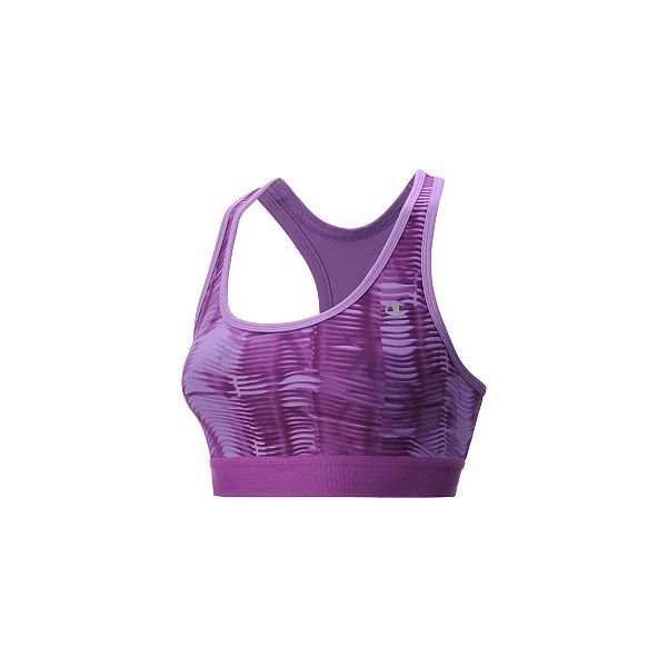 be70d5544a639 Champion Women s Double Dry Absolute Workout II Sports Bra (85 SEK) ❤ liked  on