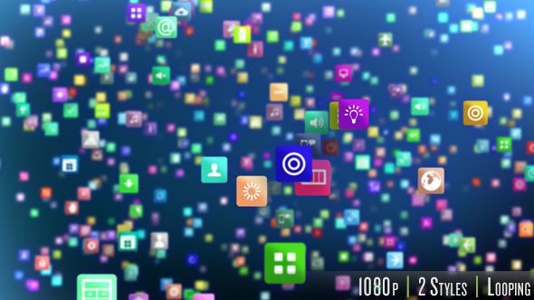 Smartphone App Marketplace Background Smartphone, App and Buy - best of videohive world map earth zoom free download
