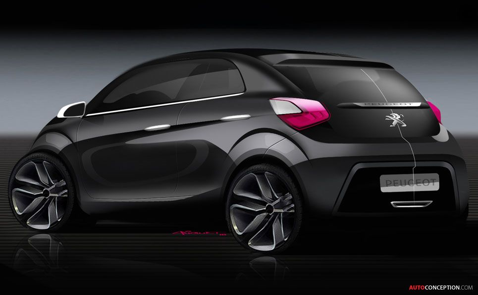 New Peugeot 108 The Design Story Car Design Sketch Car Design