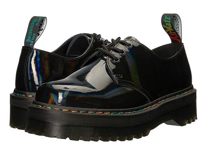 5d09846a2ad Dr. Martens 1461 Rainbow Patent Quad in 2019