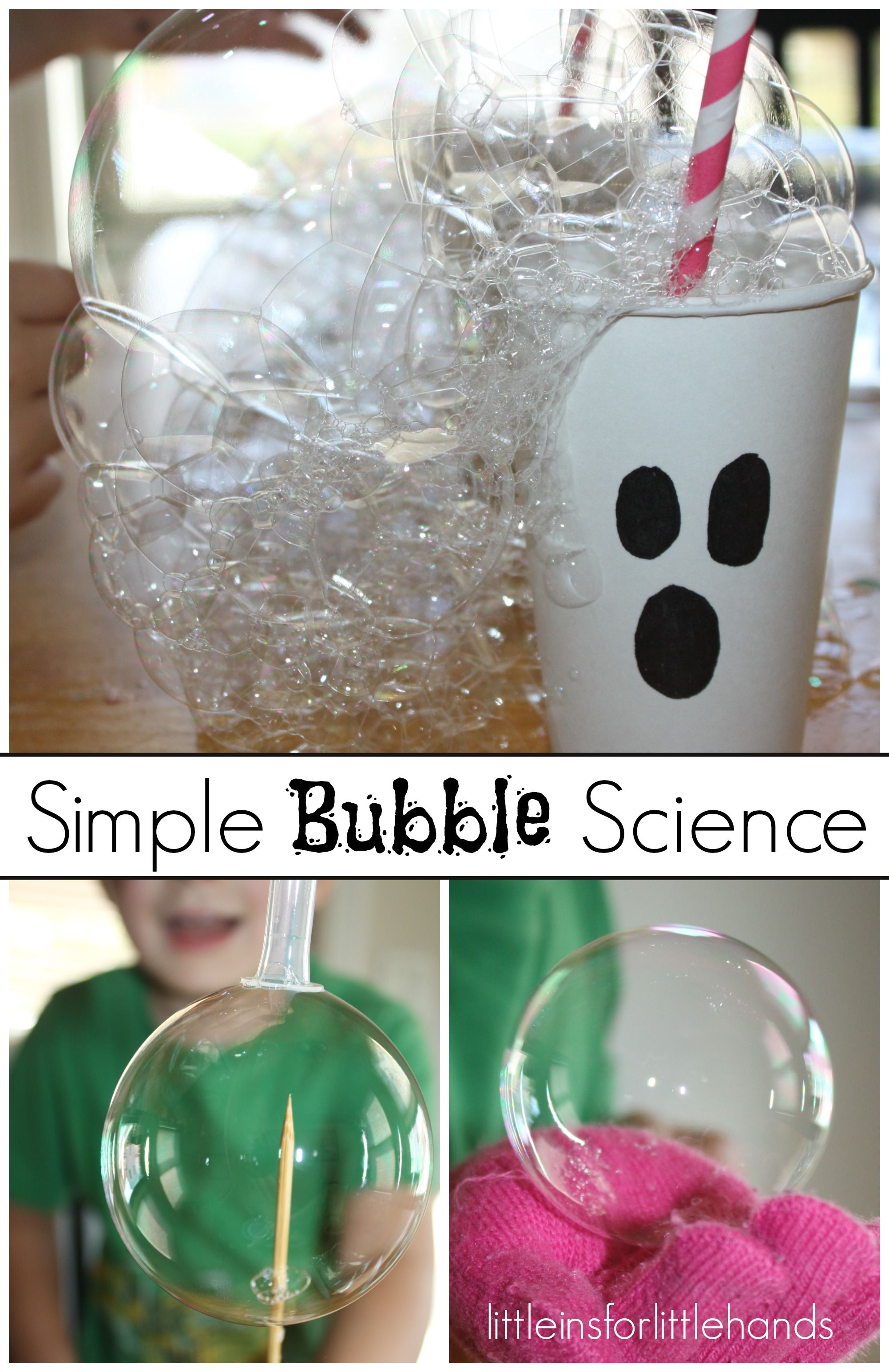 Bubble Science Experiments For Kids
