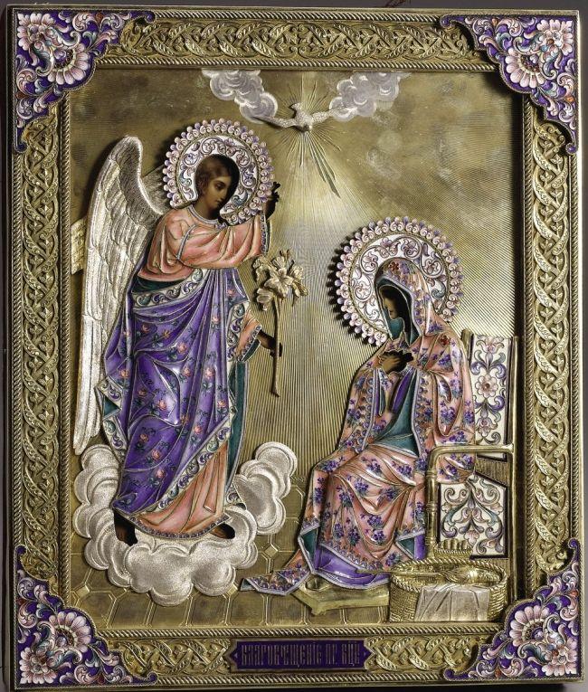 7 Απριλίου - του Ευαγγελισμού της Θεοτόκου- April 7 Annunciation