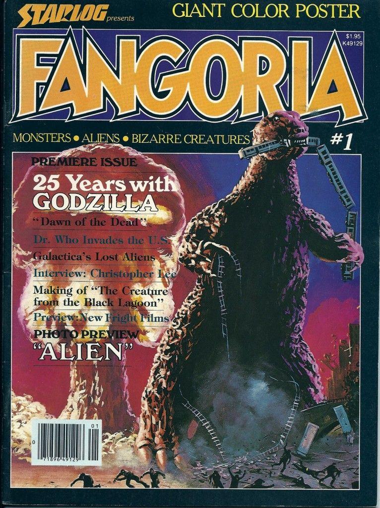 Fangoria Issue 1 Halloween 2020 Fangoria issue # 1 | Alien halloween, Godzilla, Horror