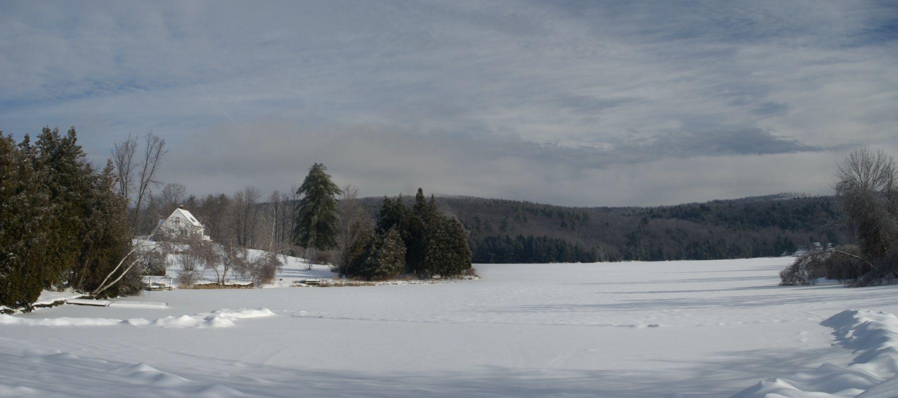 Woodstock Vt Area Silver Lake In Barnard Vermont Wonderful Winter In Vermont Vermont Winter Woodstock Vt