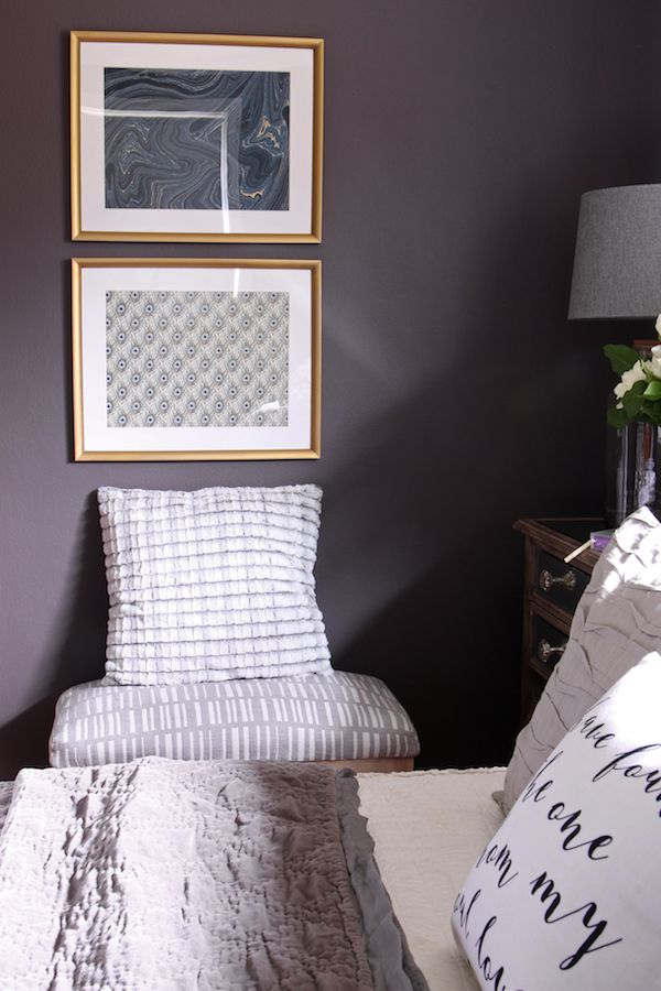 master bedroom sneak peek black frosted plum walls the 19502 | ed440b6f54c06a84d47ee85a635b12f8