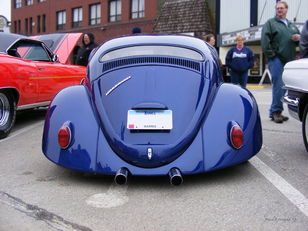 A front shot, of this Awesome Custom Bug I captured.. at