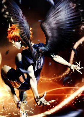 Metal Poster Hinata