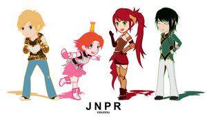Rwby - chibiRWBY series animated loop! Team JNPR! by Essynthesis